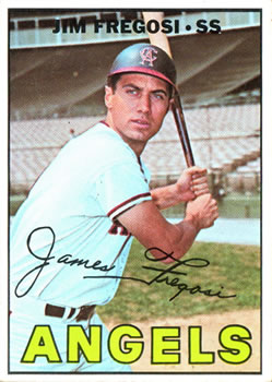 1967 Topps #385 Jim Fregosi UER (Batting Wrong)