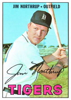 1967 Topps #408 Jim Northrup DP