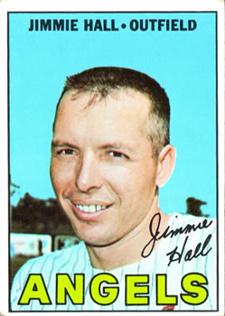 1967 Topps #432 Jimmie Hall DP