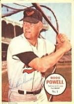 1967 Topps Posters Inserts #1 Boog Powell