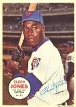 1967 Topps Posters Inserts #13 Cleon Jones