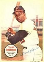 1967 Topps Posters Inserts #19 Frank Robinson