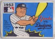 1967 Laughlin World Series #49 1952 Yankees/Dodgers/Johnny Mize/Duke Snider