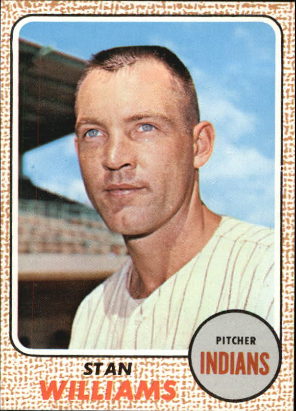 1968 Topps #54 Stan Williams