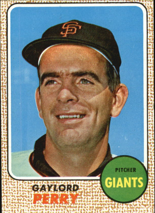 1968 Topps #85 Gaylord Perry