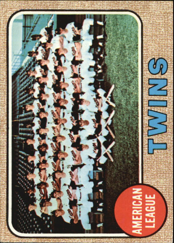 1968 Topps #137 Minnesota Twins TC