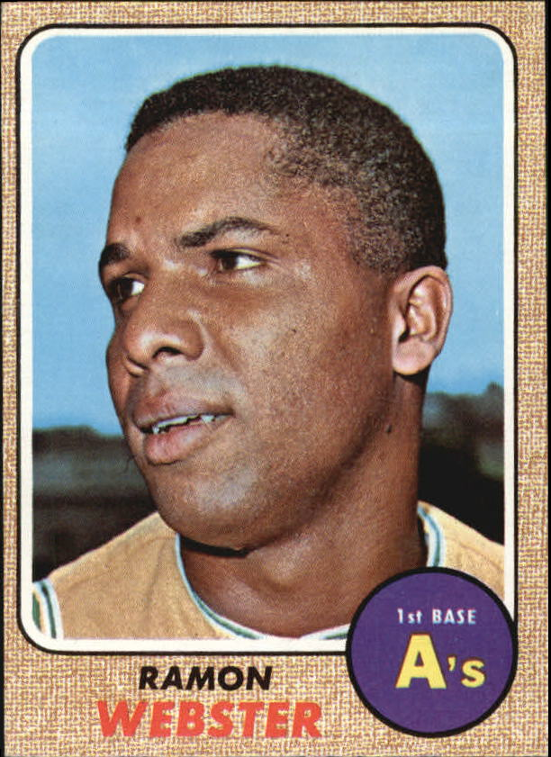 1968 Topps #164 Ramon Webster