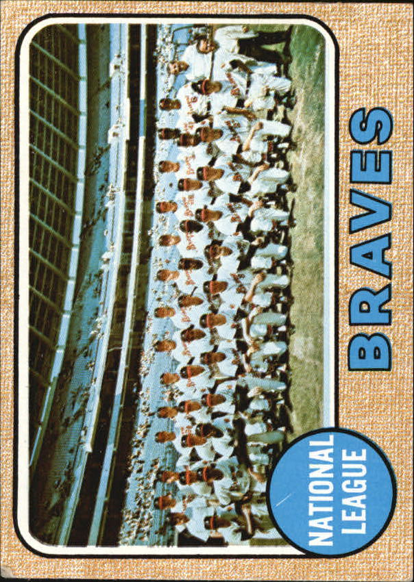 1968 Topps #221 Atlanta Braves TC