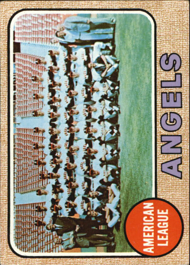 1968 Topps #252 California Angels TC