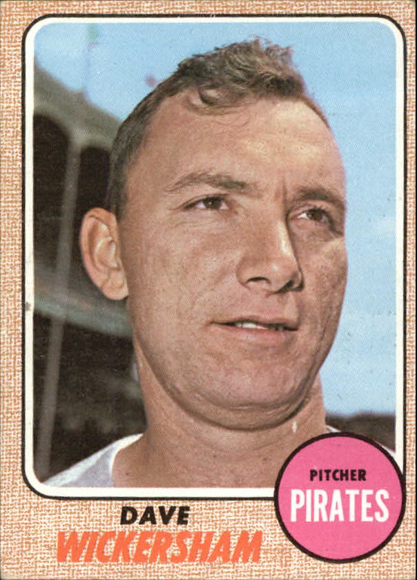 1968 Topps #288 Dave Wickersham