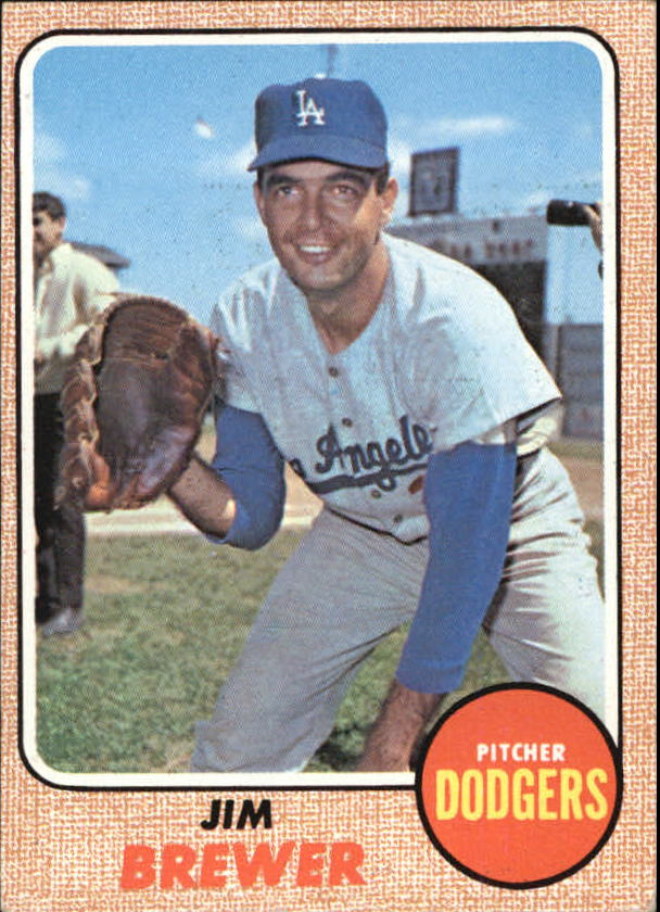 1968 Topps #298 Jim Brewer
