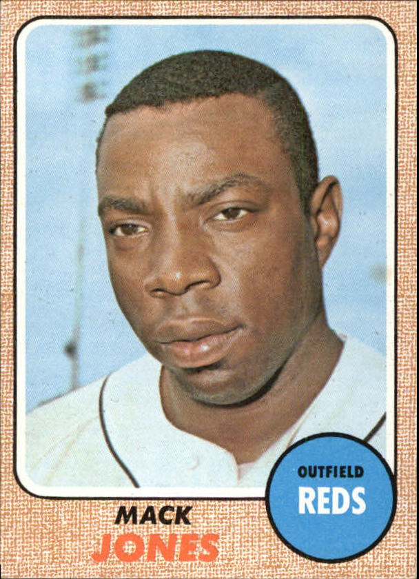 1968 Topps #353 Mack Jones