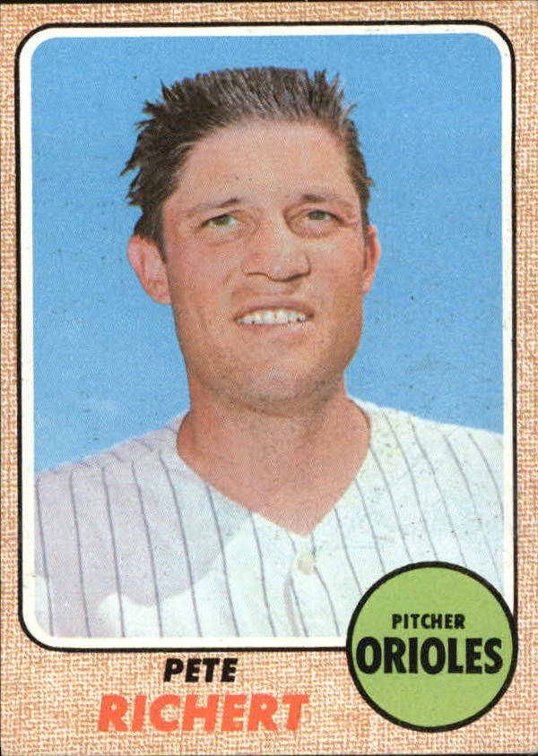 1968 Topps #354 Pete Richert