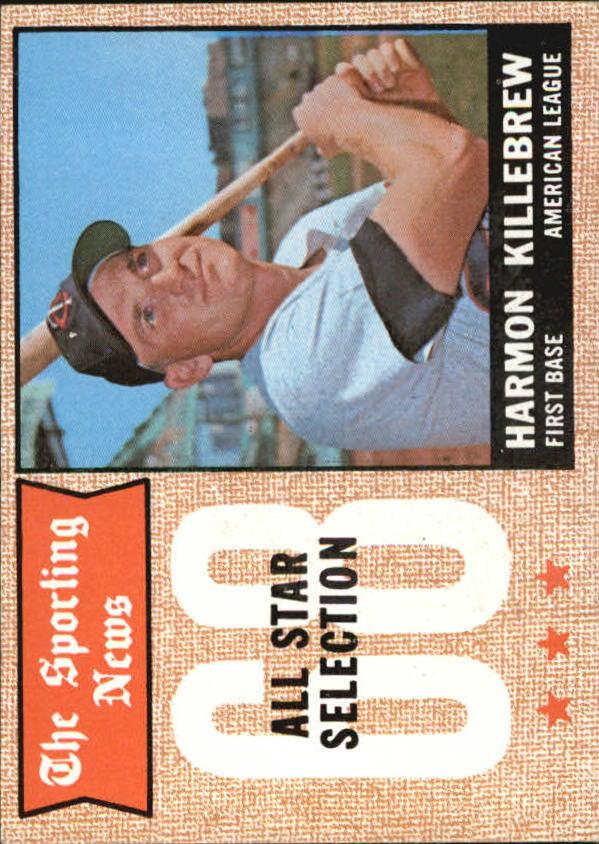 1968 Topps #361 Harmon Killebrew AS