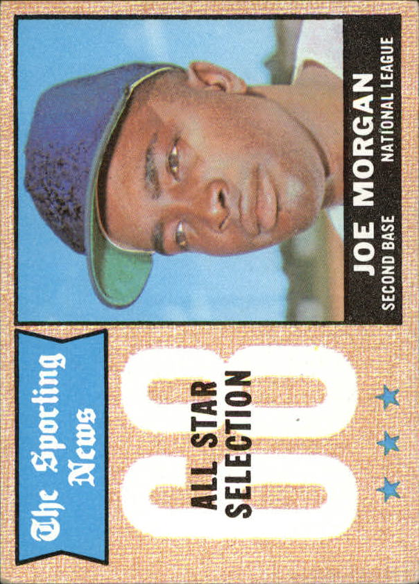 1968 Topps #364 Joe Morgan AS