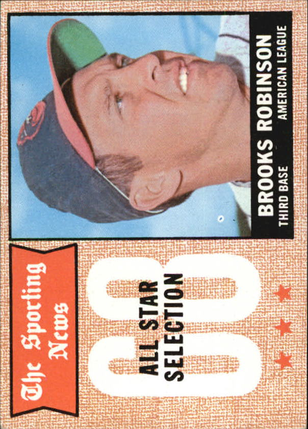 1968 Topps #365 Brooks Robinson AS