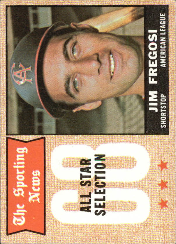 1968 Topps #367 Jim Fregosi AS