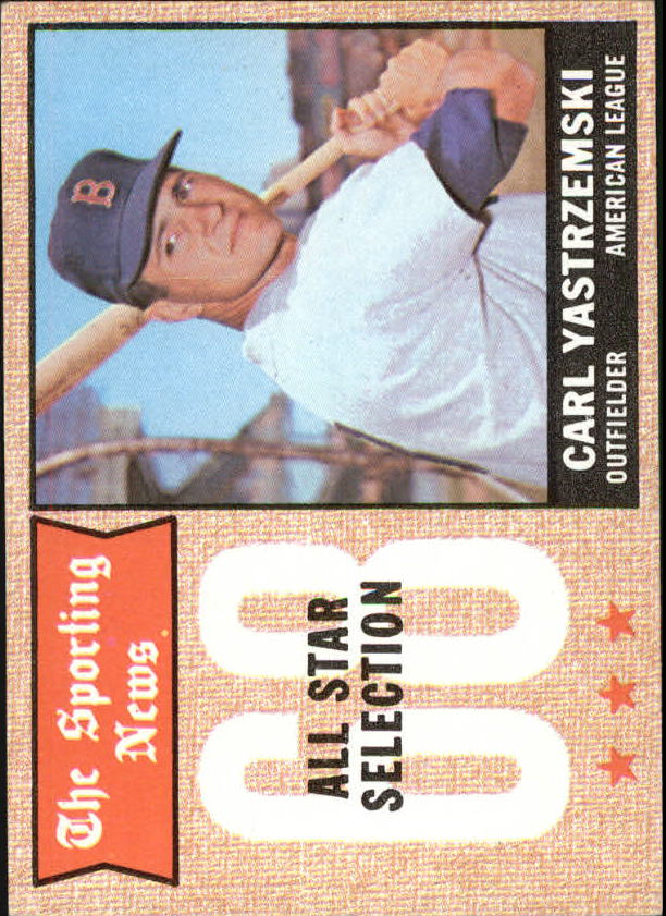 1968 Topps #369 Carl Yastrzemski AS