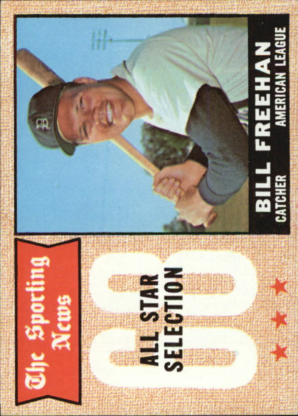 1968 Topps #375 Bill Freehan AS