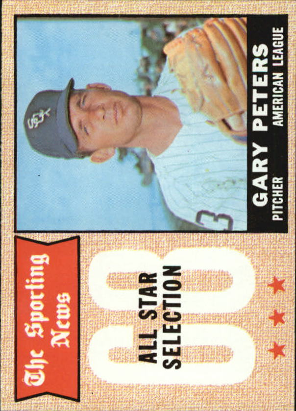 1968 Topps #379 Gary Peters AS