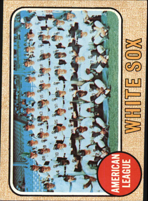 1968 Topps #424 Chicago White Sox TC