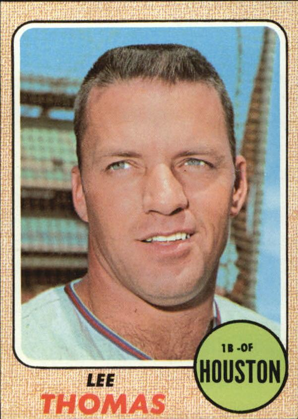 1968 Topps #438 Lee Thomas