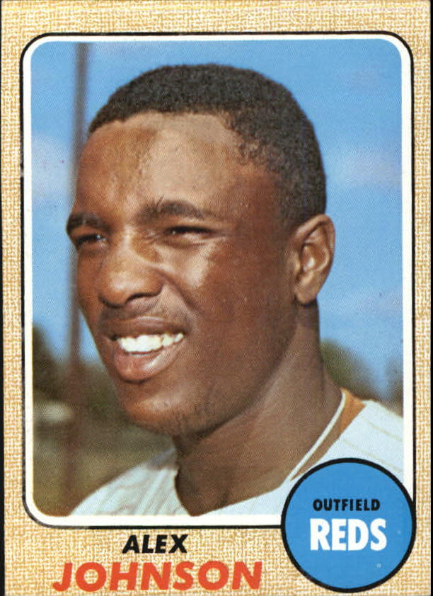 1968 Topps #441 Alex Johnson