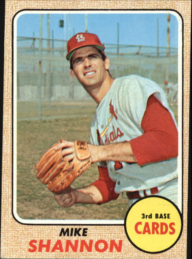 1968 Topps #445 Mike Shannon