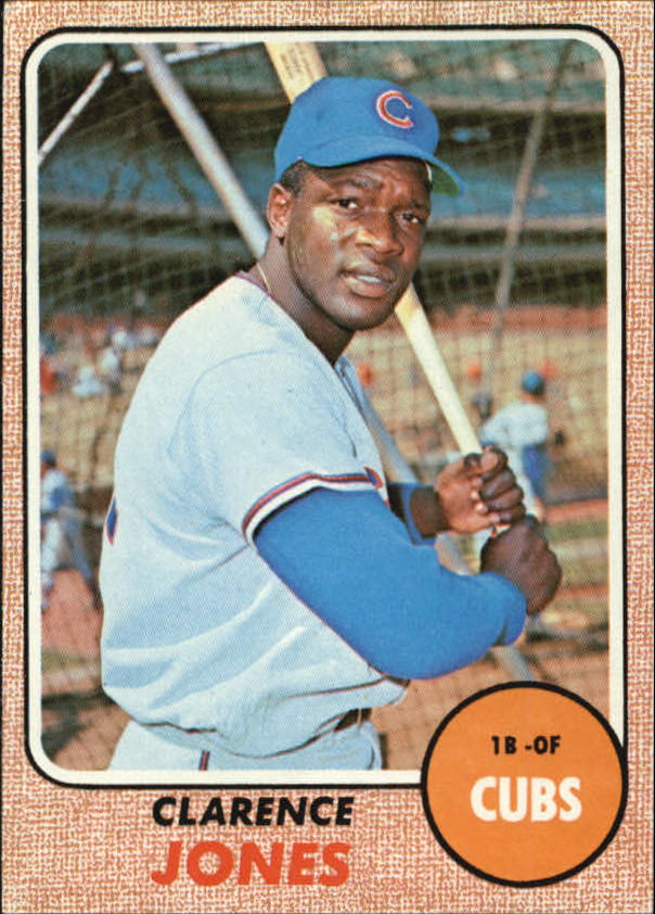 1968 Topps #506 Clarence Jones RC
