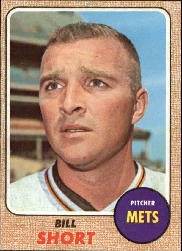 1968 Topps #536 Bill Short
