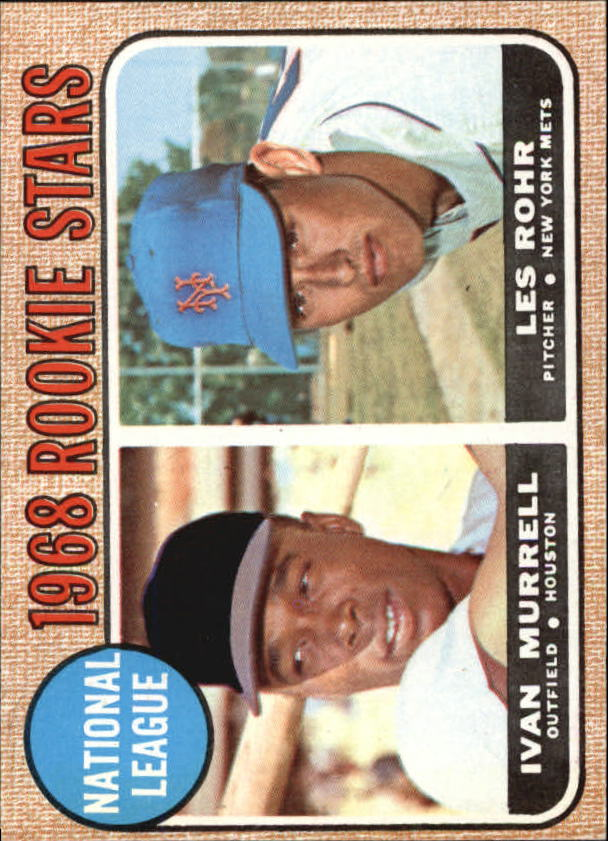 1968 Topps #569 Rookie Stars/Ivan Murrell RC/Les Rohr RC