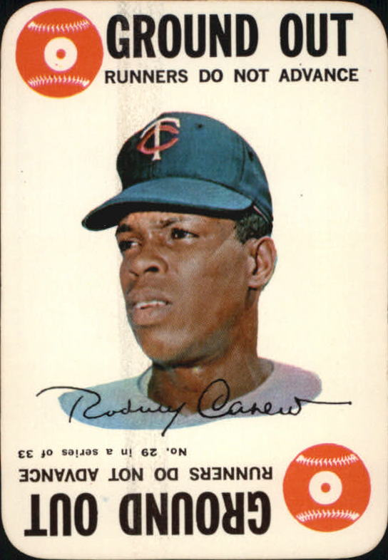1968 Topps Game #29 Rod Carew