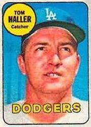 1969 Topps Decals #14 Tom Haller