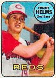 1969 Topps Decals #16 Tommy Helms