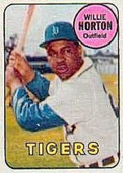 1969 Topps Decals #17 Willie Horton