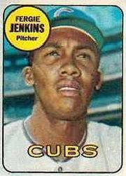 1969 Topps Decals #20 Ferguson Jenkins