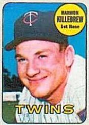 1969 Topps Decals #21 Harmon Killebrew
