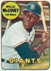1969 Topps Decals #26 Willie McCovey