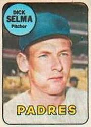 1969 Topps Decals #39 Dick Selma
