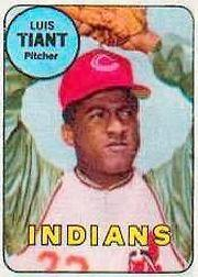 1969 Topps Decals #43 Luis Tiant