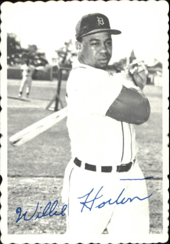 1969 Topps Deckle Edge #9 Willie Horton