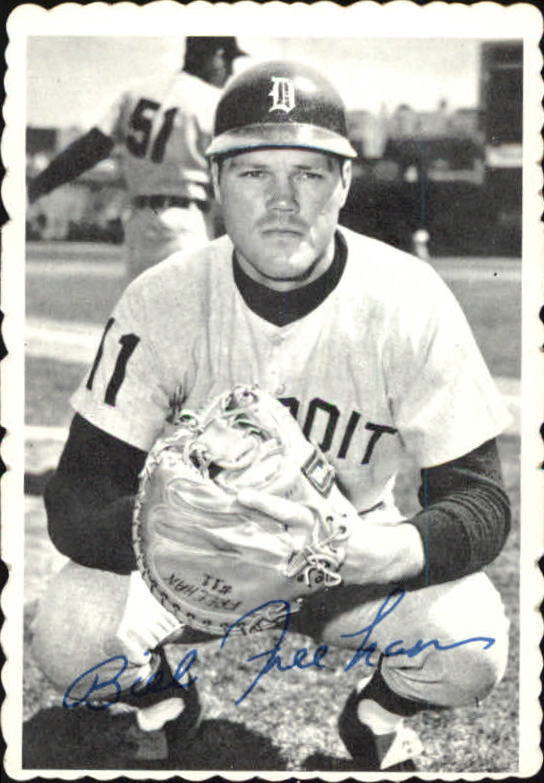 1969 Topps Deckle Edge #10 Bill Freehan