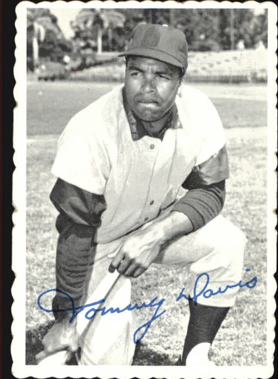 1969 Topps Deckle Edge #15 Tommy Davis