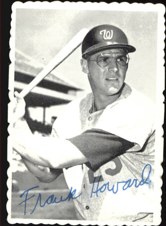 1969 Topps Deckle Edge #16 Frank Howard