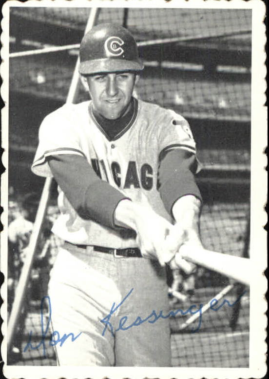 1969 Topps Deckle Edge #18 Don Kessinger