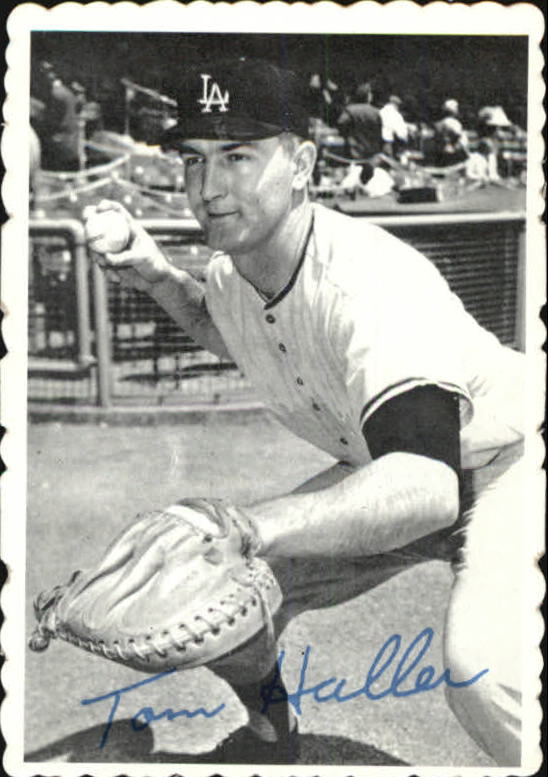 1969 Topps Deckle Edge #23 Tom Haller