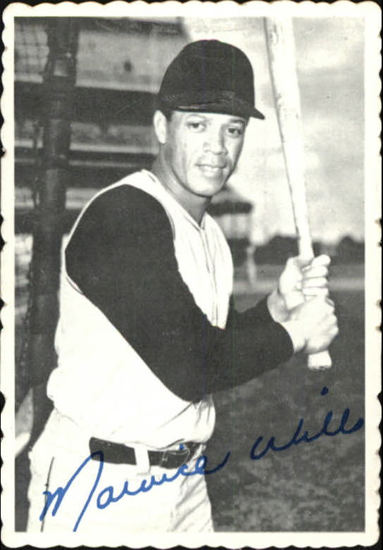 1969 Topps Deckle Edge #24 Maury Wills