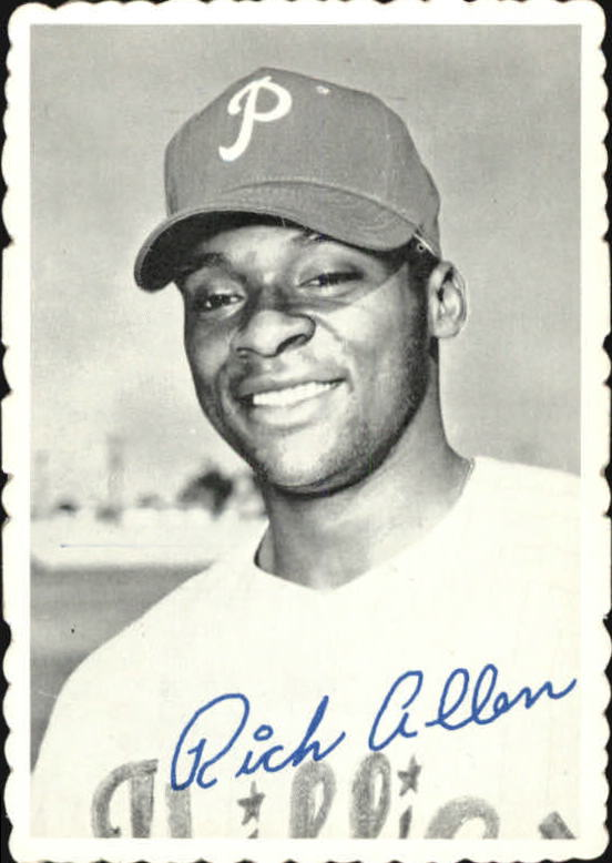 1969 Topps Deckle Edge #26 Richie Allen