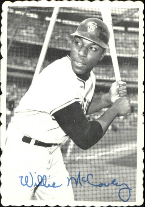 1969 Topps Deckle Edge #31 Willie McCovey