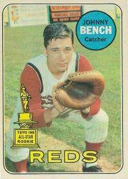 1969 O-Pee-Chee #95 Johnny Bench